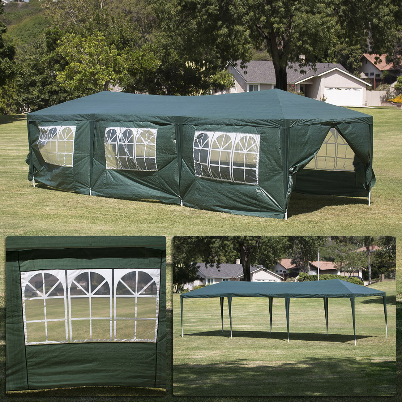 Advertising Tents are used at crucial phases in the process